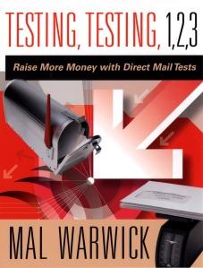 My books: Testing, Testing, 1, 2, 3